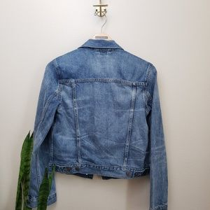 GAP Jackets & Coats - GAP Distressed Denim Jean Jacket Medium Wash